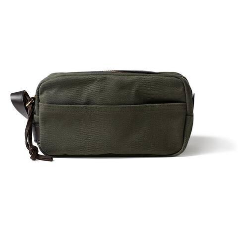 Filson Rugged Twill Travel Kit (Otter Green)