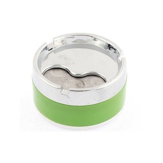 Home Car Truck Cylinder Shaped Cigarette Ashtray Ash Holder Container Green
