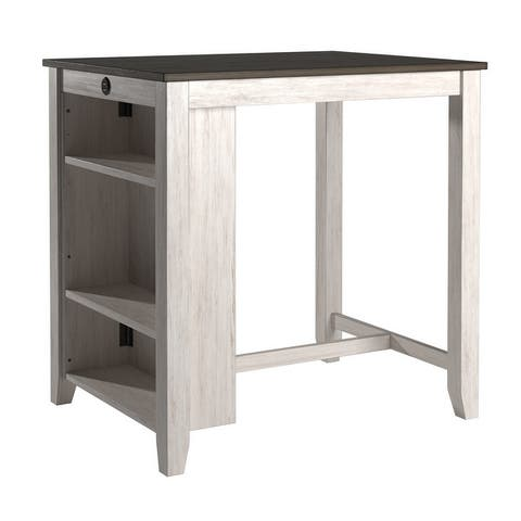 Beck Wood Counter Height Dining Table with USB by iNSPIRE Q Classic