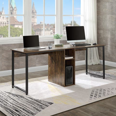 Moda Home Office 2-Person Desk