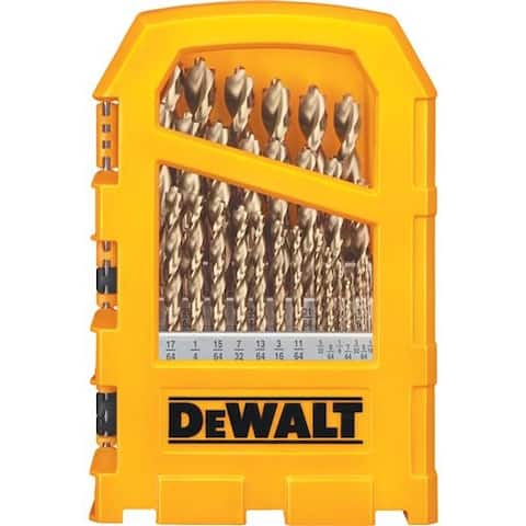Black & Decker/DWLT 29Pc Drill Bit Set DW1969 Unit: EACH