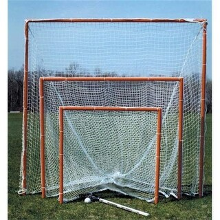 GOAL LBG6 6 ft. x 6 ft. Backyard Practice Lacrosse Goal with Net