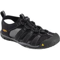Keen Clearwater CNX Men Sandal, Water Shoe, Black/Gargoyle, 10.5 - Black