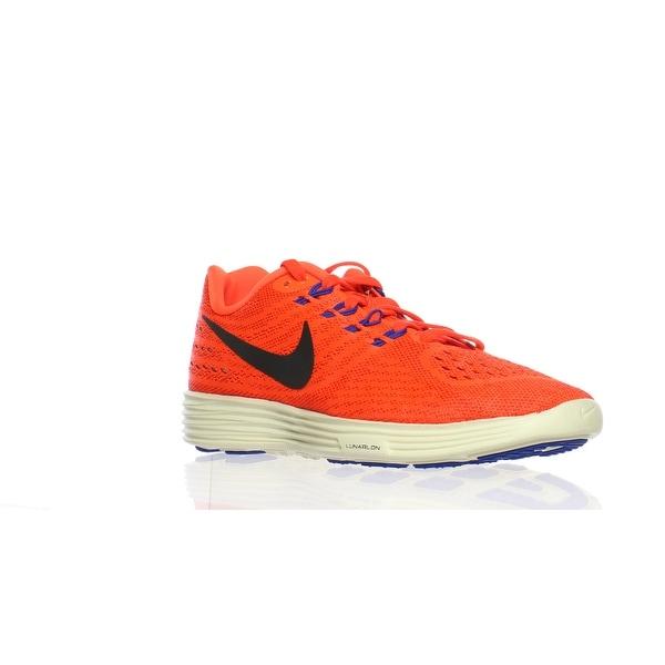 Shop Nike Womens Lunar Tempo 2 Orange Running Shoes Size 6