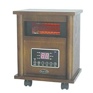 World Marketing - Qeh1400 - Cg Infared Quartz Heater Wood