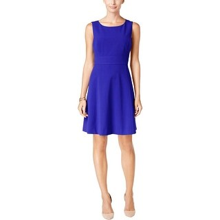 Nine West Womens Casual Dress Fit & Flare Sleeveless