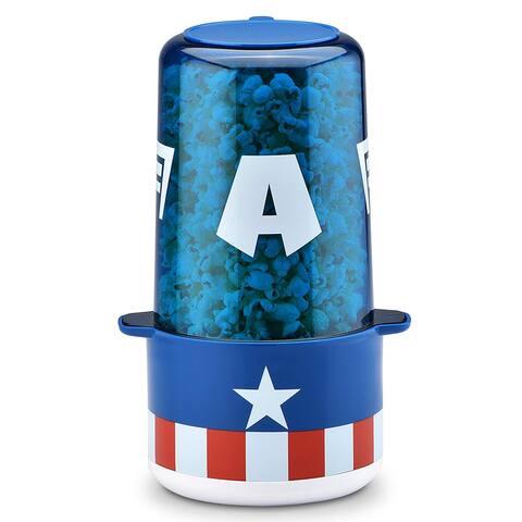 Marvel MVA-60CN Captain America Mini Stir Popcorn Popper