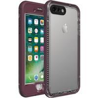 LifeProof  NUUD Series Case Waterproof & ShockProof For iPhone 7 & iPhone 8 - Purple Plum