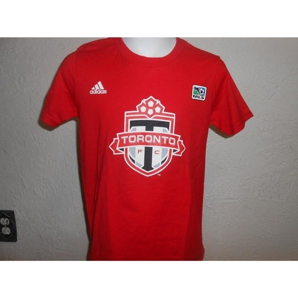 low priced 93311 8cfac Minor Flaw Mls Toronto Fc Youth Size S(8) Small Adidas Shirt