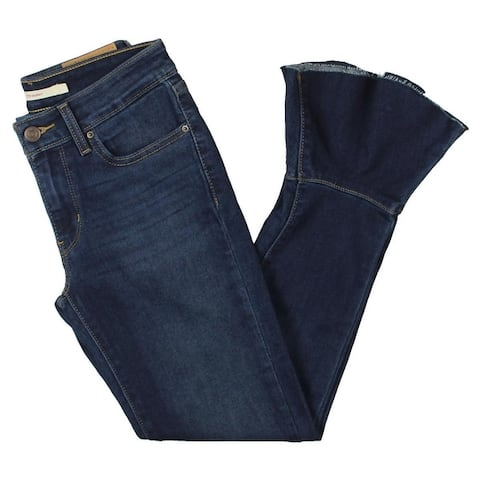 Levi's Womens Jeans Ruffle Cropped
