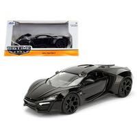 Lykan Hypersport Glossy Black 1/24 Diecast Model Cars by Jada