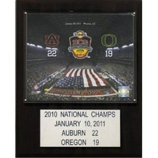 C I Collectables 1215AUBCS10 NCAA Football Auburn 2010 Football Champions Plaque