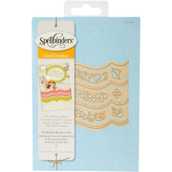 Spellbinders Borderabilities Card Creator Dies-A2 Bracket Borders 1