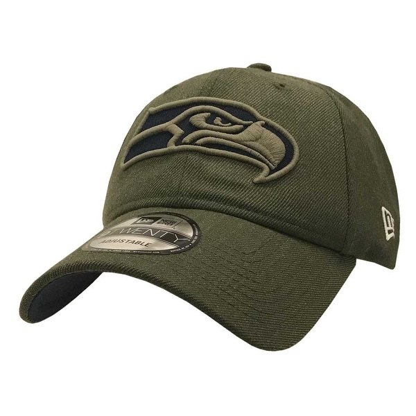 Shop New Era 2018 NFL Seattle Seahawks Salute to Service Baseball Cap 920  Military - Free Shipping On Orders Over  45 - Overstock - 23577517 825167528