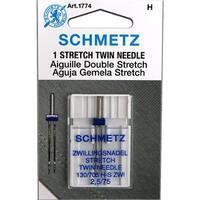 Schmetz Stretch Twin Needle - Size 2.5/75