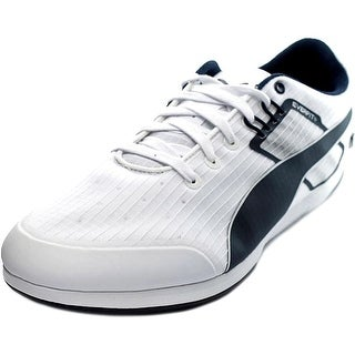 Puma BMW MS Everfit Men Round Toe Synthetic White Sneakers - white-bmw team blue