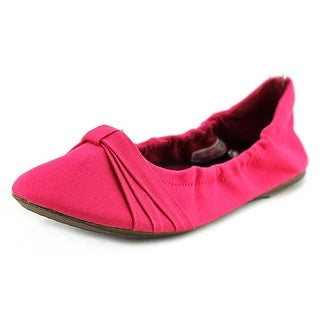 Keen Cortona Bow CVS Women Pointed Toe Canvas Pink Flats