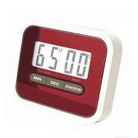 Digital Kitchen Timer Count Down Up Magnetic red