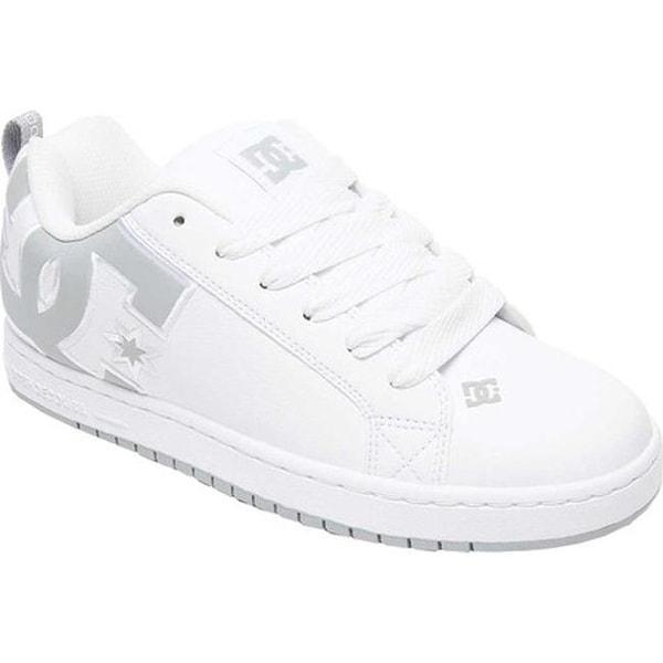 f763e501a6f18b Shop DC Shoes Men's Court Graffik SE White/Grey/Grey - Free Shipping ...