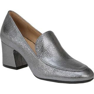 8e92677853d Naturalizer Women s Emiline 4 Loafer Silver Leather · Quick View