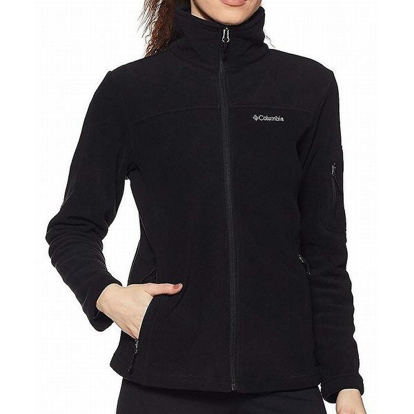 79a73d26215 Columbia Black Fast Trek II Women  x27 s Size Large L Zip Fleece Jacket