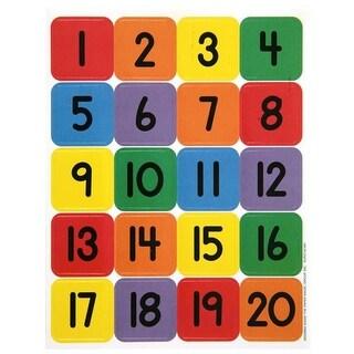Eureka EU-655990BN Numbers 1-20 Theme Stickers - Pack of 12