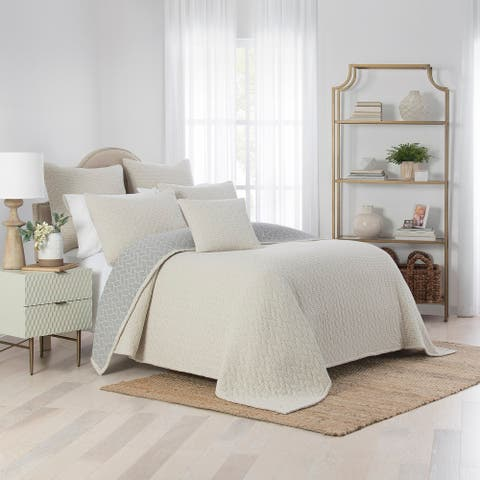 Waverly Cartona Matelasse 3 Piece Coverlet Set