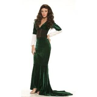 Womens Sexy Renaissance Dress Costume Standard Size 6-14 - standard (6-14)