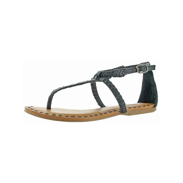 290df4c9ba6 Shop Not Rated Womens Zolin T-Strap Sandals Woven Embossed - On Sale ...