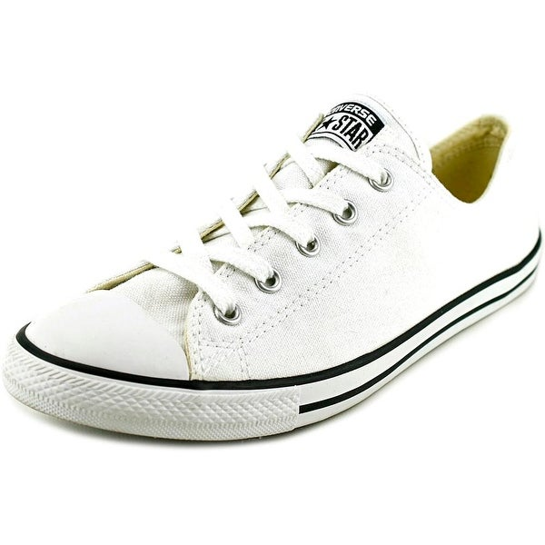 Converse Chuck Taylor All Star Dainty Ox Women Round Toe Canvas White Sneakers