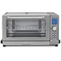 """Refurbished """"Cuisinart Deluxe Convection Toaster Oven Broiler Convection Toaster Oven Broiler"""""""