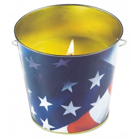 Tiki 1412122 Citronella Metal Flag Bucket, 16 Oz