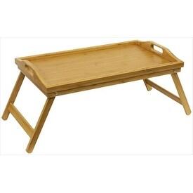 Home Basics BT01014 Bed Tray Bamboo #44;