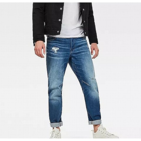 G Star Raw Mens Jeans Blue Size 31x32 Tapered Leg Arc Relaxed Stretch