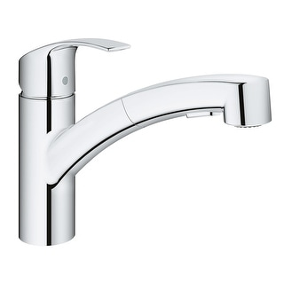 Link to Grohe 30 306 Eurosmart Pull-Out Spray Kitchen Faucet with SilkMove, Similar Items in Faucets