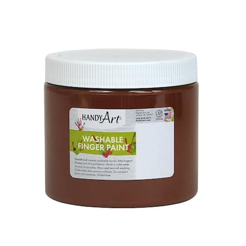 Handy art handy art brown 16oz washable 241050