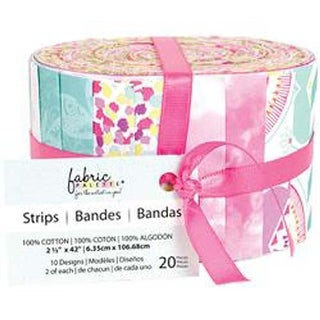 "Popsicle II - Fabric Palette Jellies 2.5""X42"" 20/Pkg"