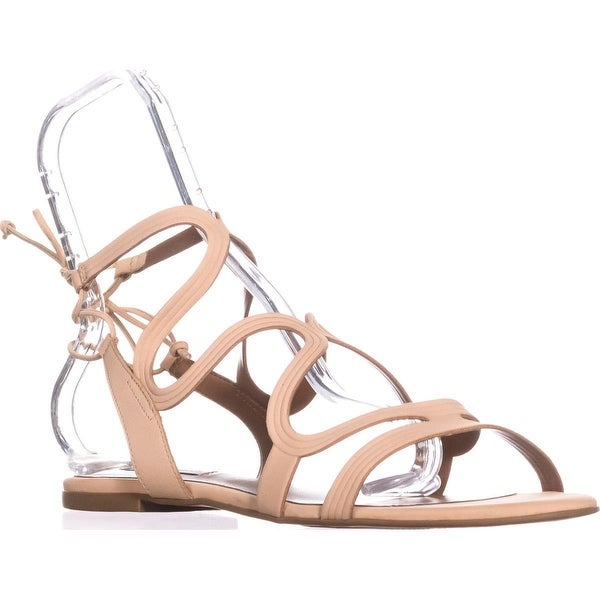 Steve Madden Cece Lace Up Gladiator Sandals, Nude