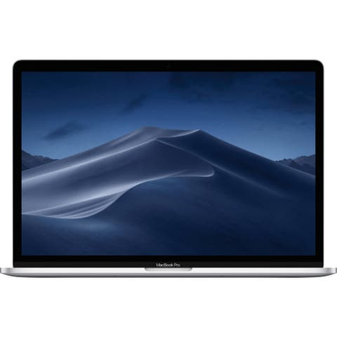 "Apple 15.4"" MacBook Pro with Touch Bar (Mid 2019, Silver) (Spanish Keyboard)"