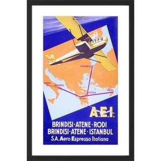 Marmont Hill AEI - Black Framed Art Print Smithsonian Black Framed Giclee Art Print on High Resolution Archive Paper