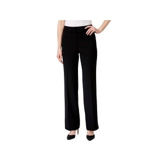 Kasper Womens Ava Dress Pants Crepe Curvy Fit