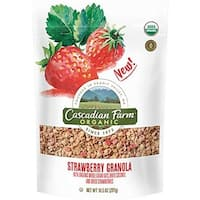 Cascadian Farm 2189850 10.5 oz Organic Strawberry Granola - Case of 4