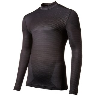Under Armour NEW Black Mens Size Large L Long Sleeve Shirt Athletic