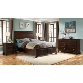 Picket House Furnishings Brinley Cherry King Storage Bed
