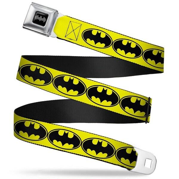 DC Comics All Bats Logo Seatbelt Belt NANANANA - 38