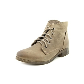 Steve Madden Rubin Women  Round Toe Leather Gray Boot