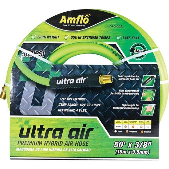 Amflo 575-50A Ultra Air Hybrid Air Hose, 50'