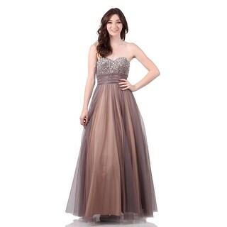 Strapless Ballgown Tulle Skirt