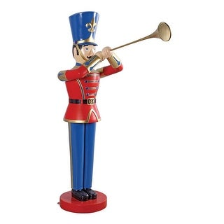 Design Toscano Giant Trumpeting Soldier Statue