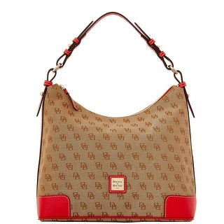 Dooney & Bourke Madison Signature Large Erica (Introduced by Dooney & Bourke at $198 in Nov 2015) - Red